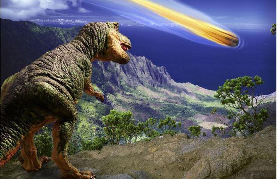 Земля была напряжена до исчезновения динозавров