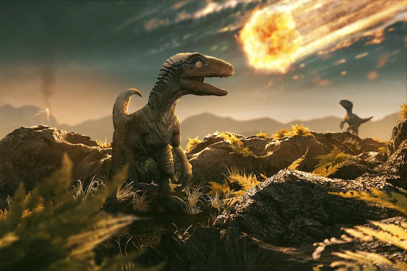В смерти динозавров все было связано с астероидом, а не с вулканами