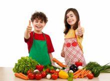 Дети в два раза чаще едят здоровую пищу после просмотра кулинарных шоу со здоровой пищей