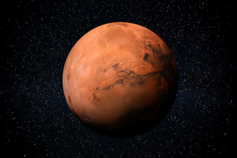 Марсианский затор: Метеориты рассказывают историю водной истории Марса