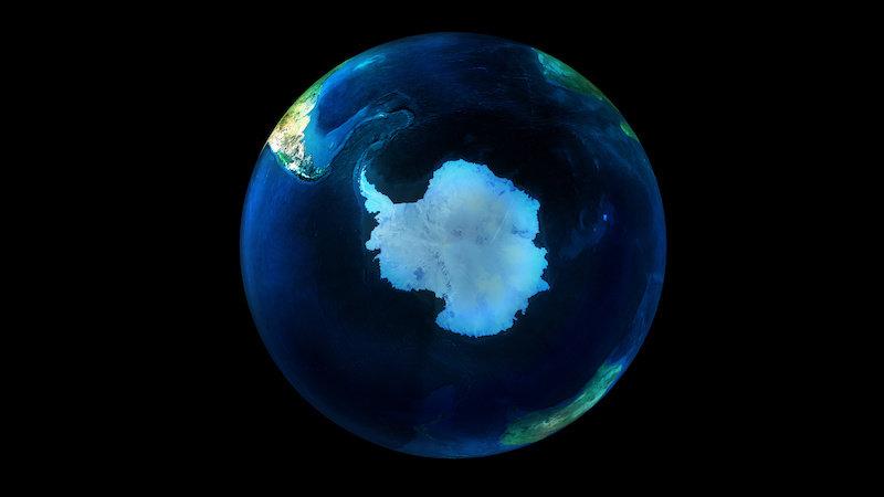 Экстремальное потепление Южного полюса