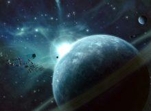 Шар, спрятанный в далекой пыли, - это «младенческая» планета размером с Нептун