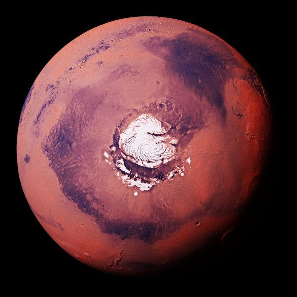 Ранний Марс был покрыт ледяными щитами, а не текущими реками, говорят исследователи
