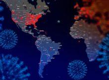 Как коронавирус распространился в Северной Америке и Европе