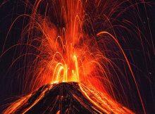 Древние вулканы когда-то увеличивали выбросы углерода в океане, но сейчас люди намного опережают их