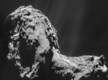 У кометы есть собственное северное сияние