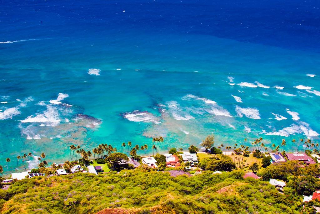 40% пляжей Оаху, Гавайи, могут быть потеряны к середине века